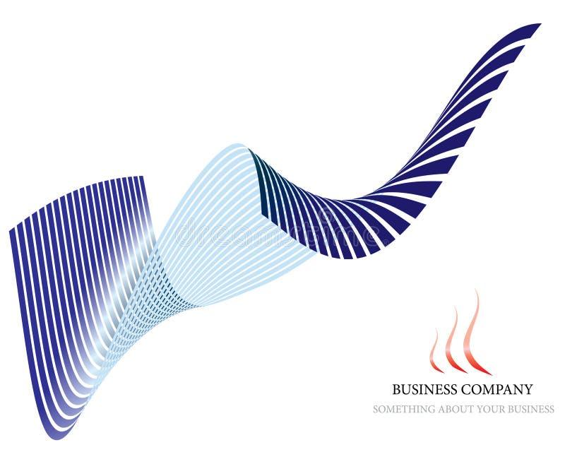 Fundo corporativo ilustração royalty free