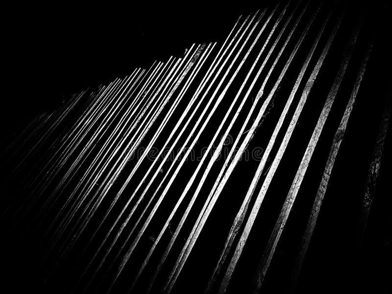 Fundo cortado de bambu da textura do teste padrão imagem de stock royalty free