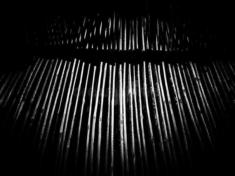 Fundo cortado de bambu da textura do teste padrão fotos de stock royalty free