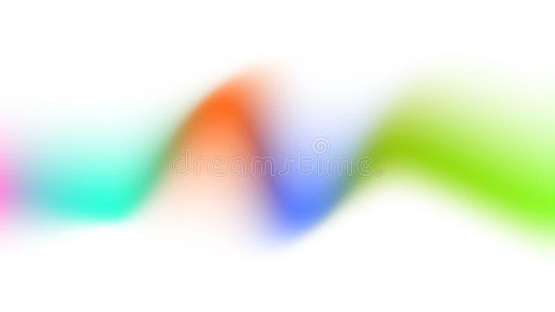 Fundo creativo colorido abstrato ilustração do vetor