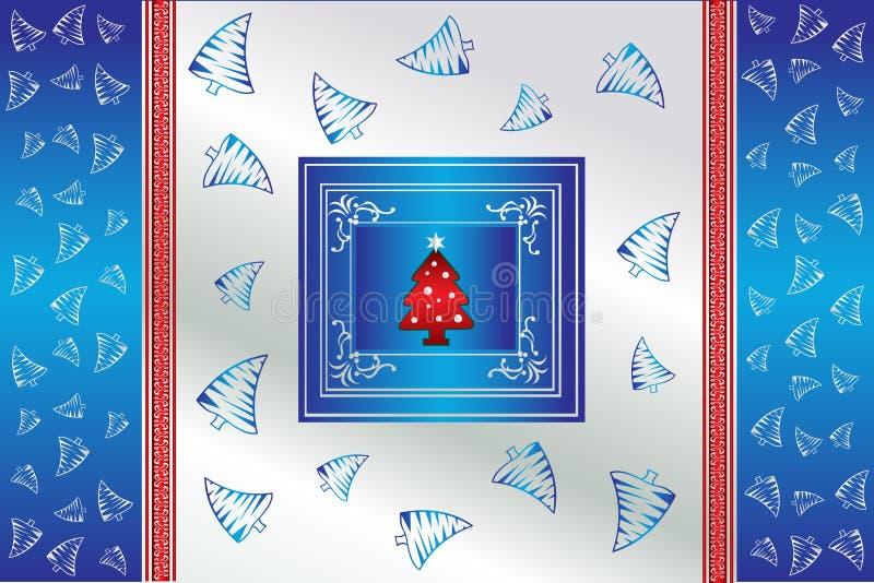 Fundo creativo do vetor do Natal ilustração do vetor