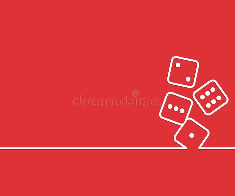 Fundo criativo abstrato do conceito Para a Web e aplicações móveis, projeto do molde da ilustração, negócio infographic, ilustração stock