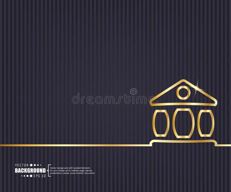 Fundo criativo abstrato do vetor do conceito Para a Web e aplicações móveis, projeto do molde da ilustração, negócio ilustração royalty free