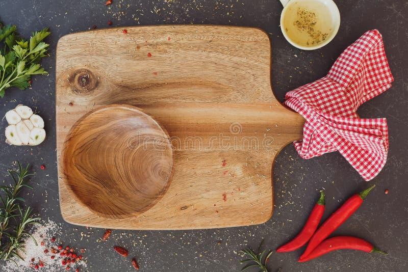 Fundo culinário imagem de stock