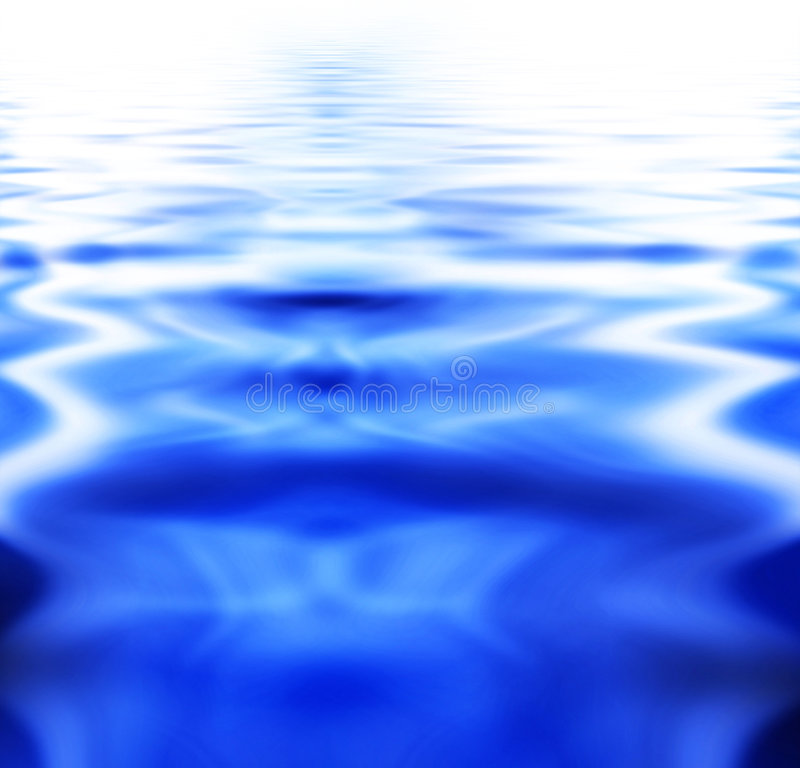 Fundo da água ilustração royalty free