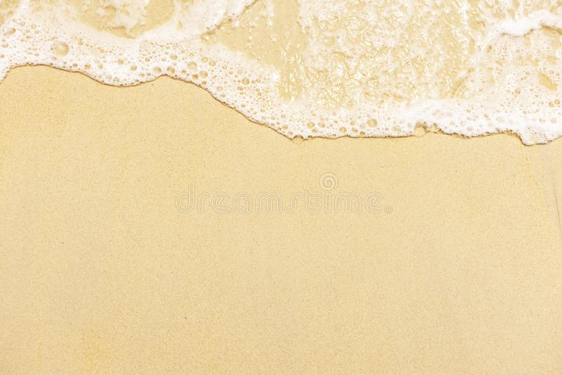 Fundo da água de mar A água é branca foto de stock royalty free
