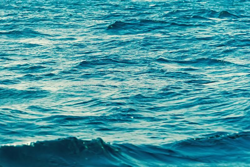 Fundo da água de mar imagens de stock royalty free