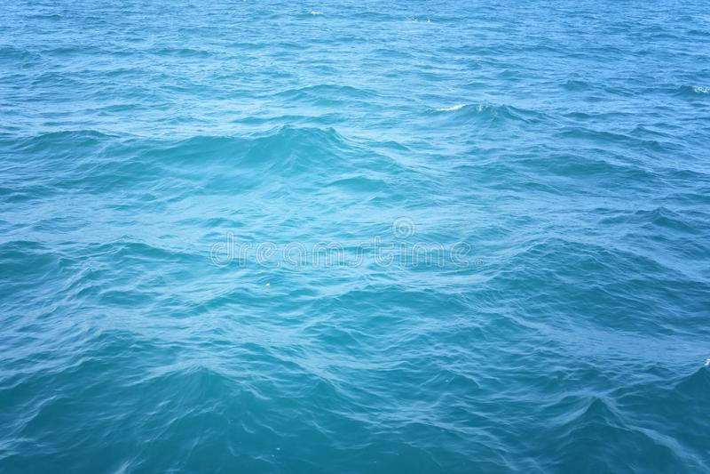 Fundo da água do oceano fotografia de stock