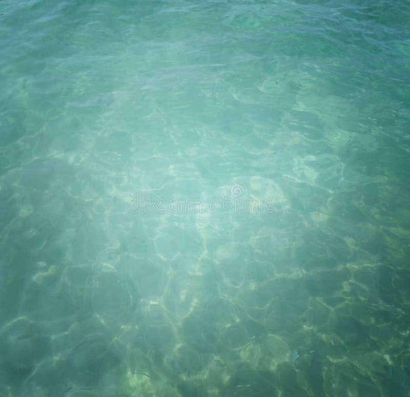 Fundo da água do oceano foto de stock royalty free
