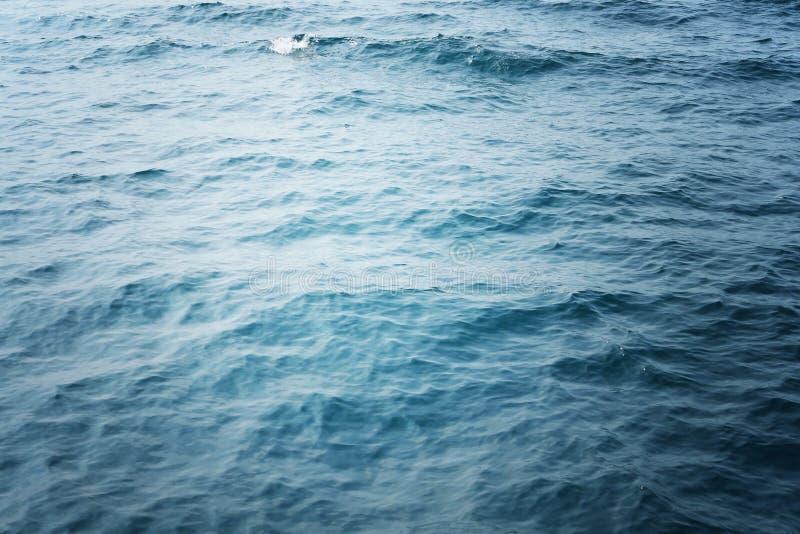 Fundo da água do oceano imagem de stock