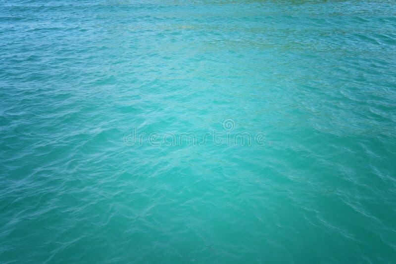 Fundo da água do oceano imagens de stock