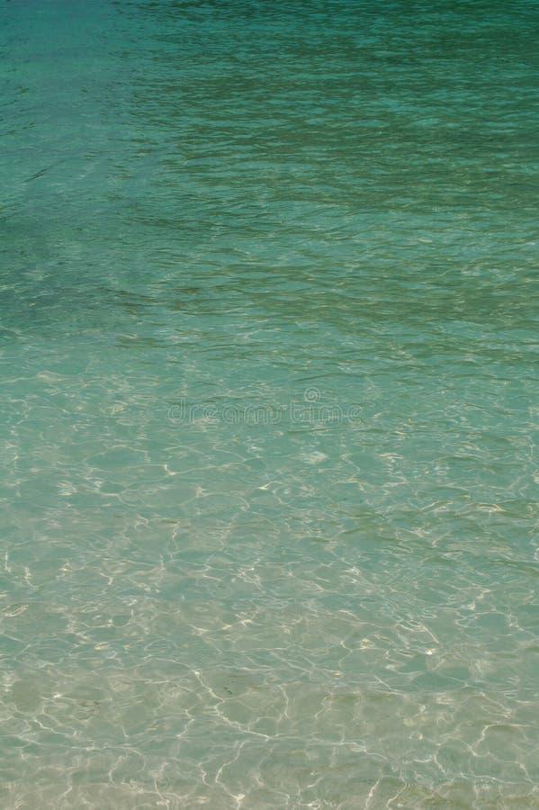 Fundo da água do oceano imagens de stock royalty free