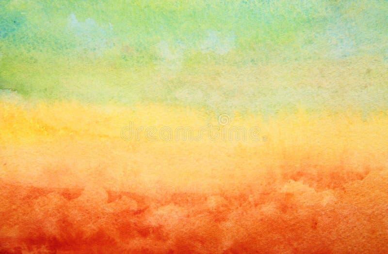 Fundo da aquarela. ilustração royalty free