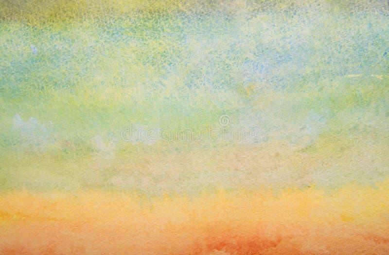 Fundo da aquarela. ilustração do vetor