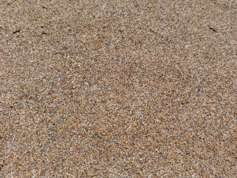 Fundo da areia do oceano foto de stock