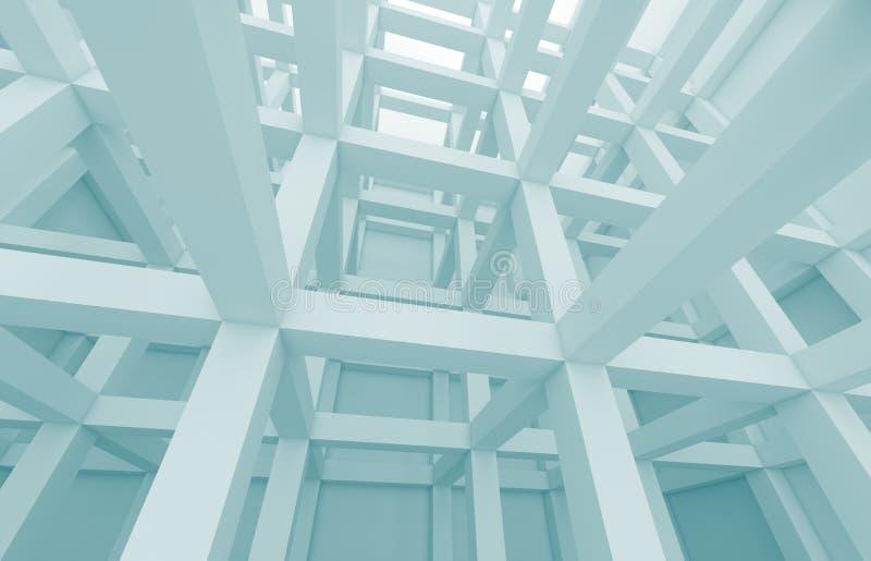 Fundo da arquitetura ilustração do vetor