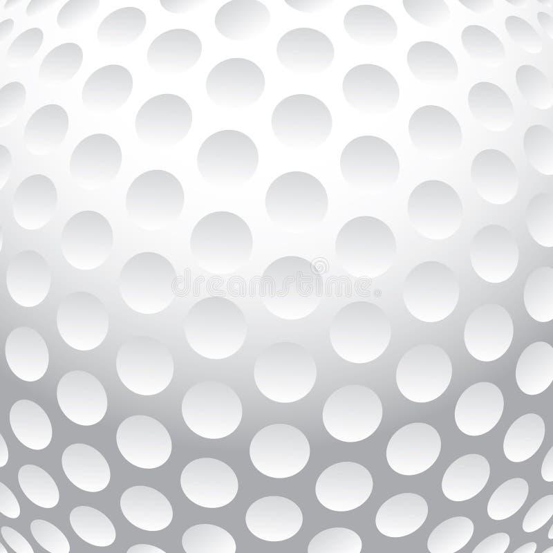 Fundo da bola de golfe ilustração do vetor