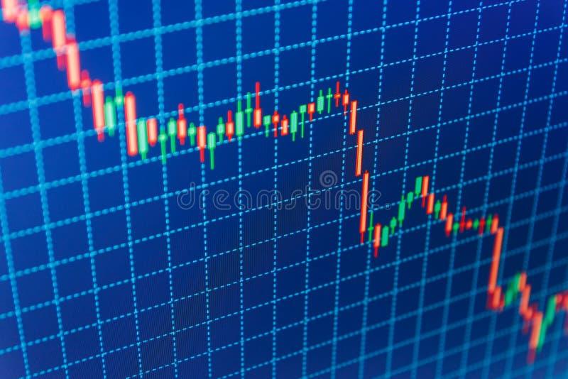 Fundo da bolsa de valores da finança imagem de stock