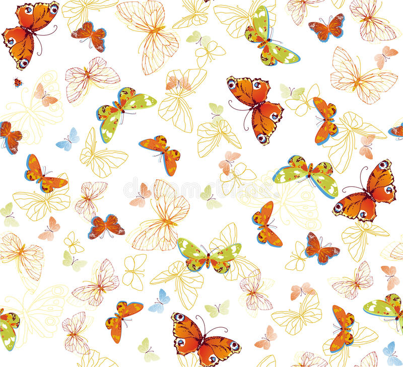 Fundo da borboleta imagens de stock