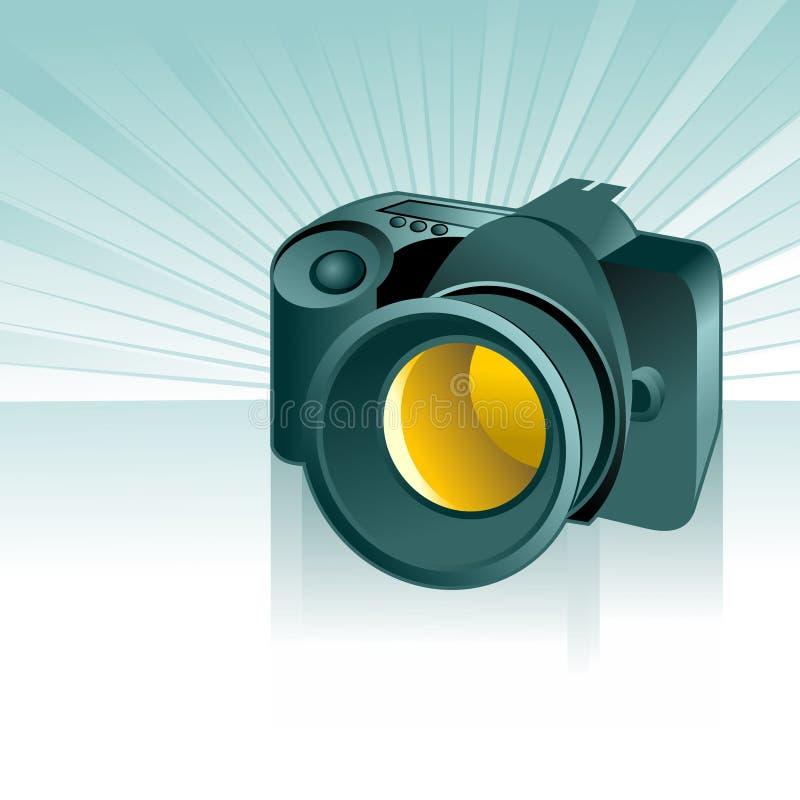 Fundo da câmara digital ilustração royalty free