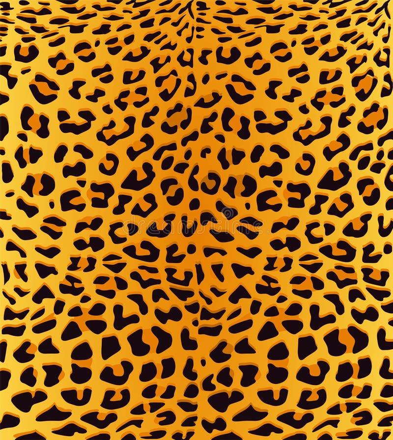 Fundo da cópia do leopardo ilustração royalty free