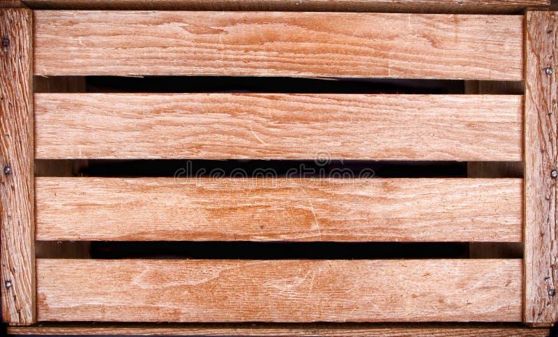 Fundo da caixa de madeira fotografia de stock royalty free