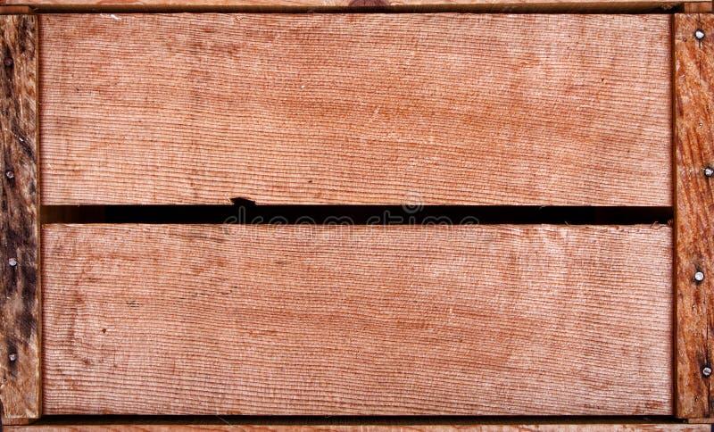 Fundo da caixa de madeira fotos de stock