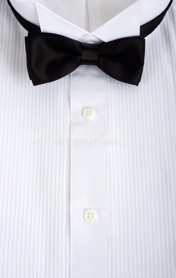 Fundo da camisa do smoking imagem de stock