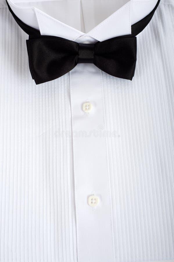 Fundo da camisa do smoking fotos de stock