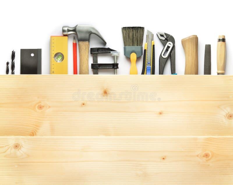 Fundo da carpintaria fotos de stock royalty free