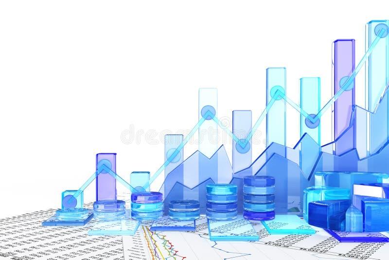 Fundo da carta de negócio ilustração stock