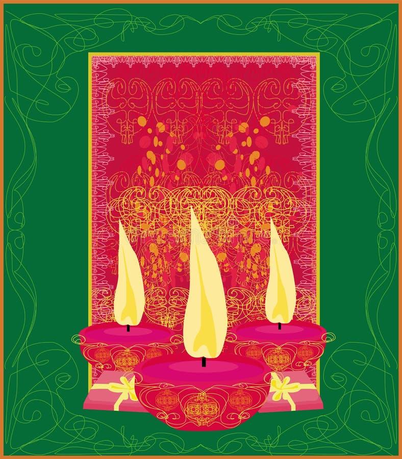 fundo da celebração do diwali, ilustração ilustração royalty free