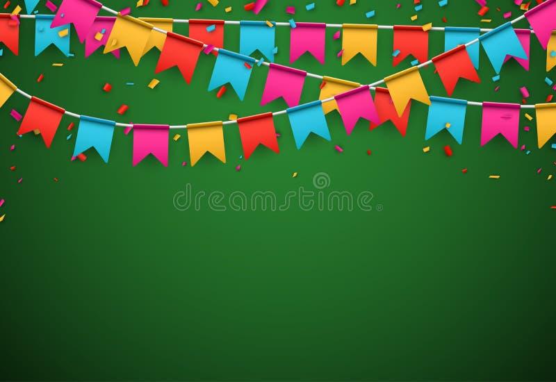 Fundo da celebração do partido ilustração stock