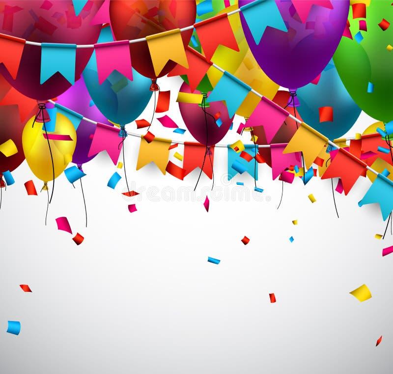 Fundo da celebração do partido ilustração royalty free