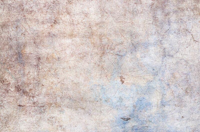 Fundo da cor Azul e amarelo vermelhos do Grunge pintados no muro de cimento sumário da textura para o fundo fotos de stock royalty free