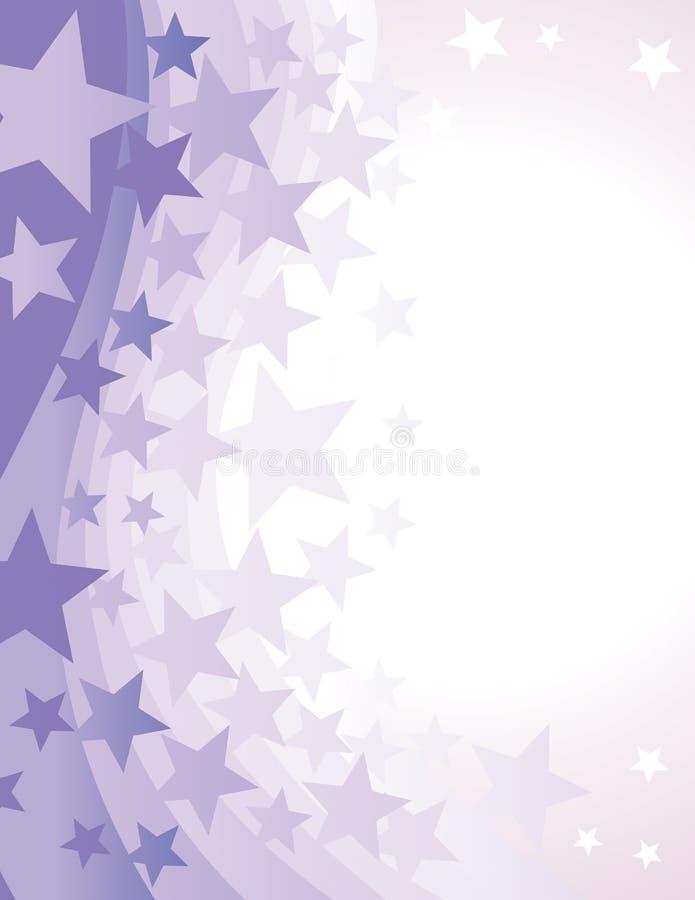 Fundo da estrela ilustração royalty free