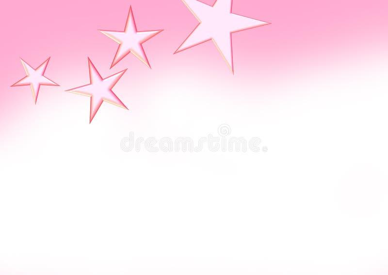Fundo da estrela ilustração do vetor