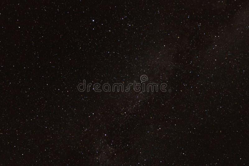 Fundo da estrela da galáxia do Astrophotography para a astronomia, o espaço ou o cosmos, um universo do céu noturno, ficção cient fotografia de stock