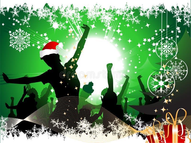 Fundo da festa de Natal ilustração stock