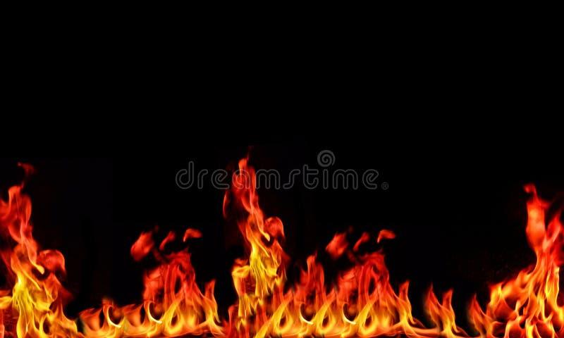 Fundo da flama fotografia de stock royalty free