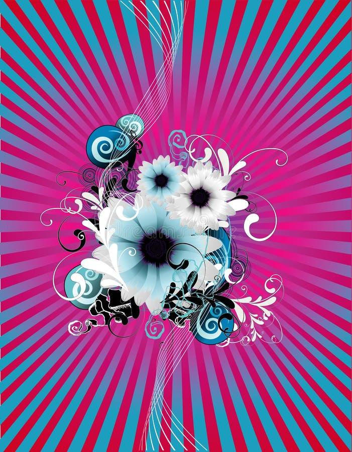 Fundo da flor ilustração stock