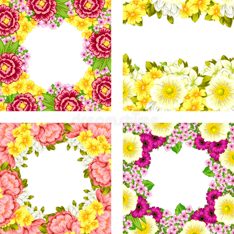 Fundo da flor fresca foto de stock royalty free