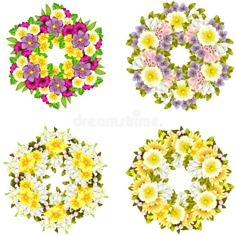 Fundo da flor fresca imagens de stock