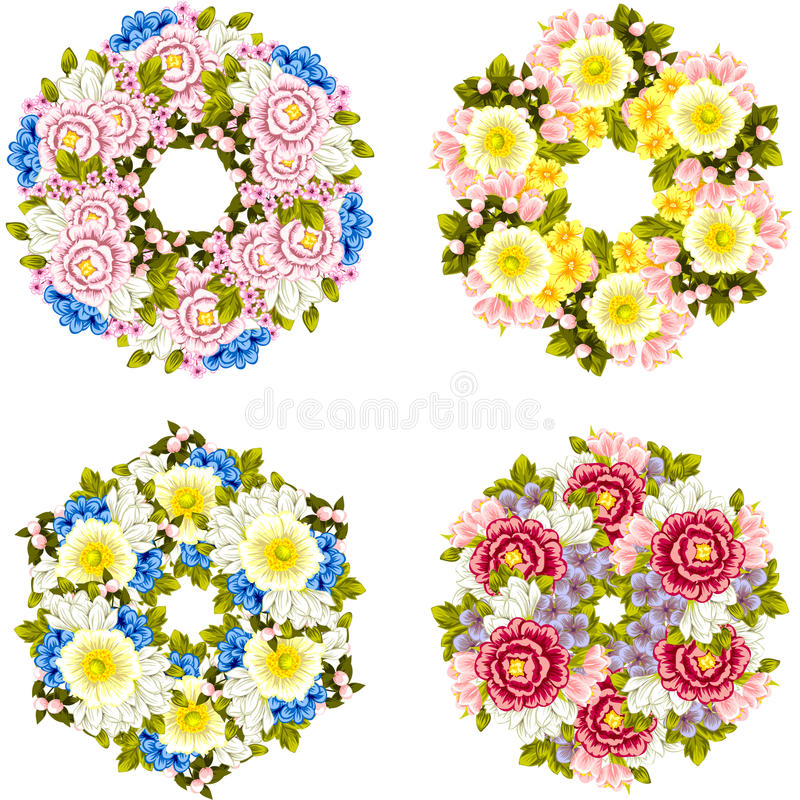 Fundo da flor fresca imagem de stock