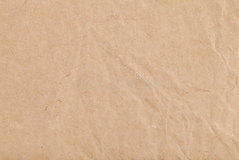 Fundo da folha do papel de embalagem amarrotado imagens de stock