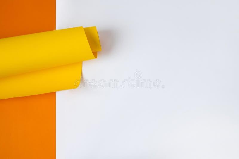Fundo da forma e da geometria Decorações coloridas do fundo fotografia de stock royalty free