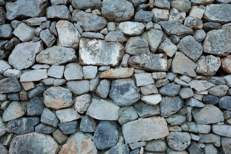Fundo da foto natural da textura da parede de pedra foto de stock royalty free