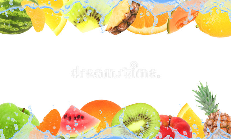 Fundo da fruta foto de stock royalty free