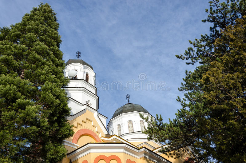 Fundo da igreja ortodoxa imagem de stock royalty free