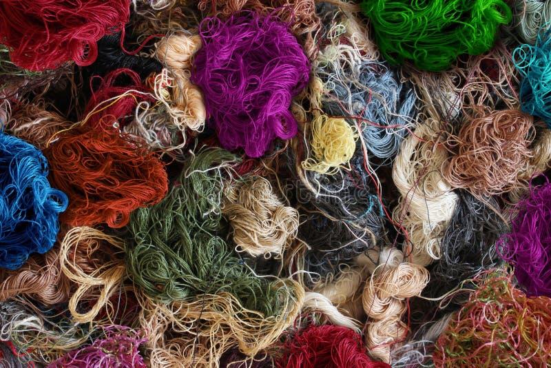 Fundo da indústria têxtil fotografia de stock royalty free
